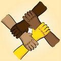 Free Symbolic Teamwork Stock Photo - 18930680