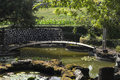 Free Footbridge In A Garden Stock Image - 18930931