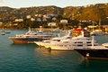 Free St. Thomas Marina At Sunset, Caribbean Royalty Free Stock Photo - 18932975