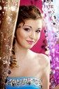 Free Beautiful Girl In A Nightclub Royalty Free Stock Photography - 18939857