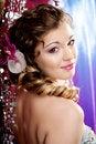 Free Beautiful Girl In A Nightclub Royalty Free Stock Image - 18939946