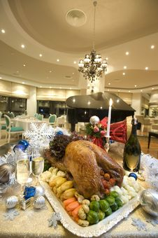 Free Delicious Christmas Turkey Royalty Free Stock Photo - 18930065