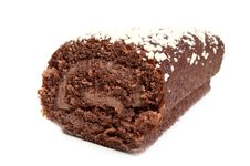 Free Chocolate Roll Isolated Stock Photo - 18930190