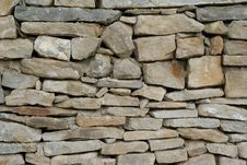 Free Horisontal Stone Wall Royalty Free Stock Images - 18930359