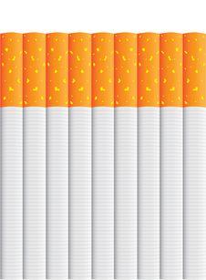 Free Isolated Cigarettes Royalty Free Stock Photo - 18930435