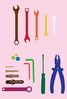 Free Household Tools Stock Photography - 18930542