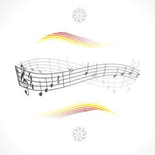 Free Music Notes Royalty Free Stock Image - 18930636