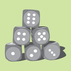 Free Playing Dices Stock Photo - 18930670