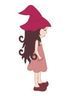 Free Sad Little Witch Stock Image - 18931181