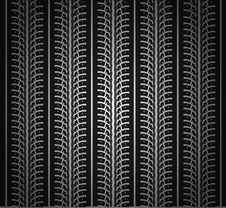 Free Repeating Tire Tracks Royalty Free Stock Photos - 18931478