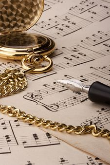 Free Musical Notes Royalty Free Stock Images - 18931509