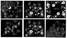 Free Floral Design Elements Stock Image - 18931601