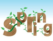 Free Coming Spring Stock Photography - 18932212