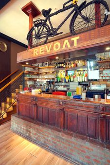 Cafe Interior Stock Photo