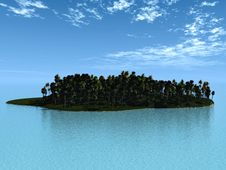 Free Little Island Stock Images - 18933854