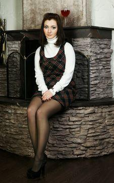 Free The Beautiful Girl Stock Image - 18934051