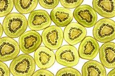 Free Kiwi Fruit Pattern. Stock Images - 18934054