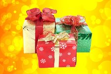 Free Boxes With Gifts Royalty Free Stock Images - 18934629