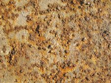 Rust Metal Texture Royalty Free Stock Photography