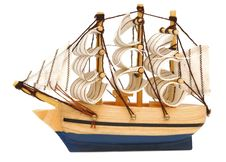 Model Classic Boat Stock Photography