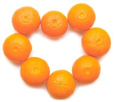 Free Heart Shaped Tangerins Stock Images - 18935014