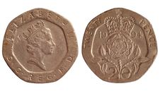 Free Coin Of Great Britain 1994 Year Royalty Free Stock Photography - 18935247