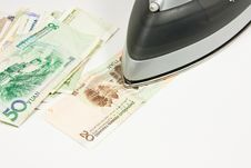 Free Ironing Money Stock Photos - 18935503