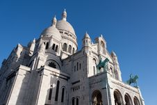 Free Sacre Coeur, Montmartre. Paris. Royalty Free Stock Photo - 18936055