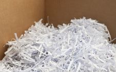 Free Shredded Waste Paper Strips Stock Photography - 18936502