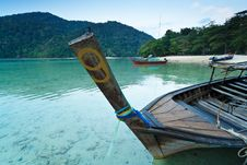 Alone Boat Royalty Free Stock Photo