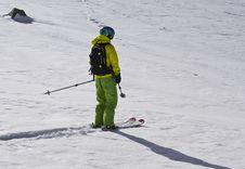 Ski Tour Stock Photography