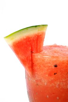 Smoothie Water Melon Royalty Free Stock Photography