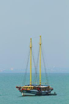 Free Sailboat At Phattaya Beach Stock Photo - 18938630