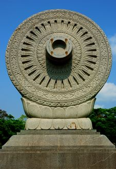 Free Brand Thammachak Garden Buddha Monthon Stock Photos - 18939253