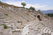 Ancient Theatre, Ephesus, Turkey Stock Photo