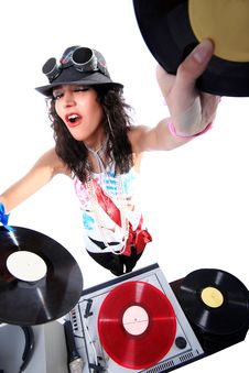 Free Cool DJ Stock Photos - 18941683