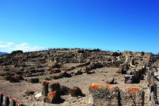 Free Archaeological Site Of Nora. Stock Photography - 18944912