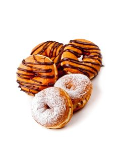 Delicious  Frosted Donuts Royalty Free Stock Image