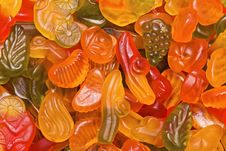 Free Bright Fruit Candy Stock Image - 18947261