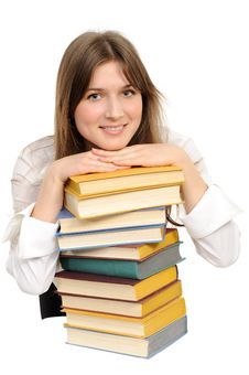 Free Student Girl With Books Royalty Free Stock Images - 18947729
