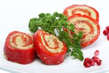 Free Stuffed Peppers Royalty Free Stock Photography - 18947957