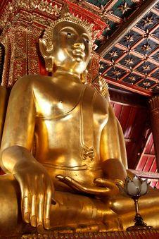Free Golden Buddha Stock Image - 18948471
