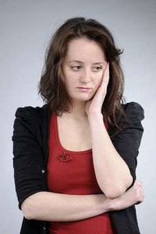 Free Sad Adult Suffering Royalty Free Stock Photography - 18949277