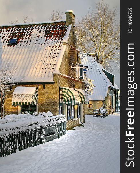 Wintertime on Ameland