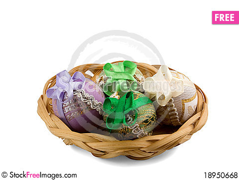 Free Easter Eggs Royalty Free Stock Photos - 18950668