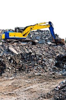Free Excavator Royalty Free Stock Image - 18950356