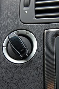 Free Car Push Button Starter Stock Photos - 18951153