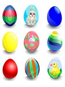 Free Easter Eggs Stock Photos - 18951483