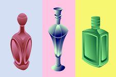 Free Perfume Bottles Stock Photography - 18951492
