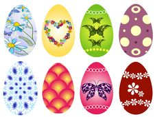 Free Collection Easter`s Eggs Royalty Free Stock Photo - 18951515